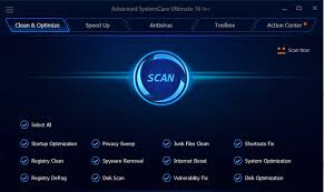 Advanced Systemcare Ultimate 11 main
