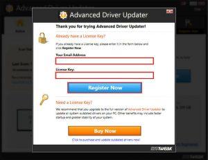 advanced driver updater crack work