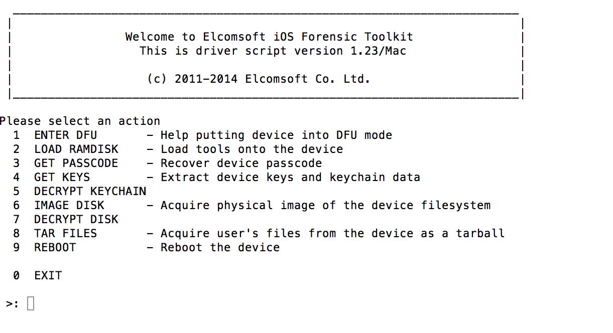 Elcomsoft PhoneBreaker License number