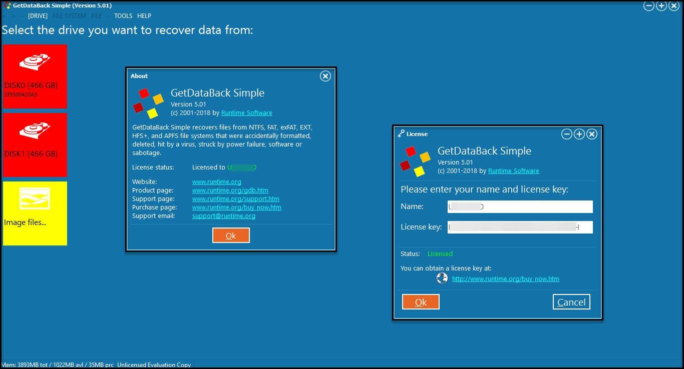 GetDataBack Serial Key