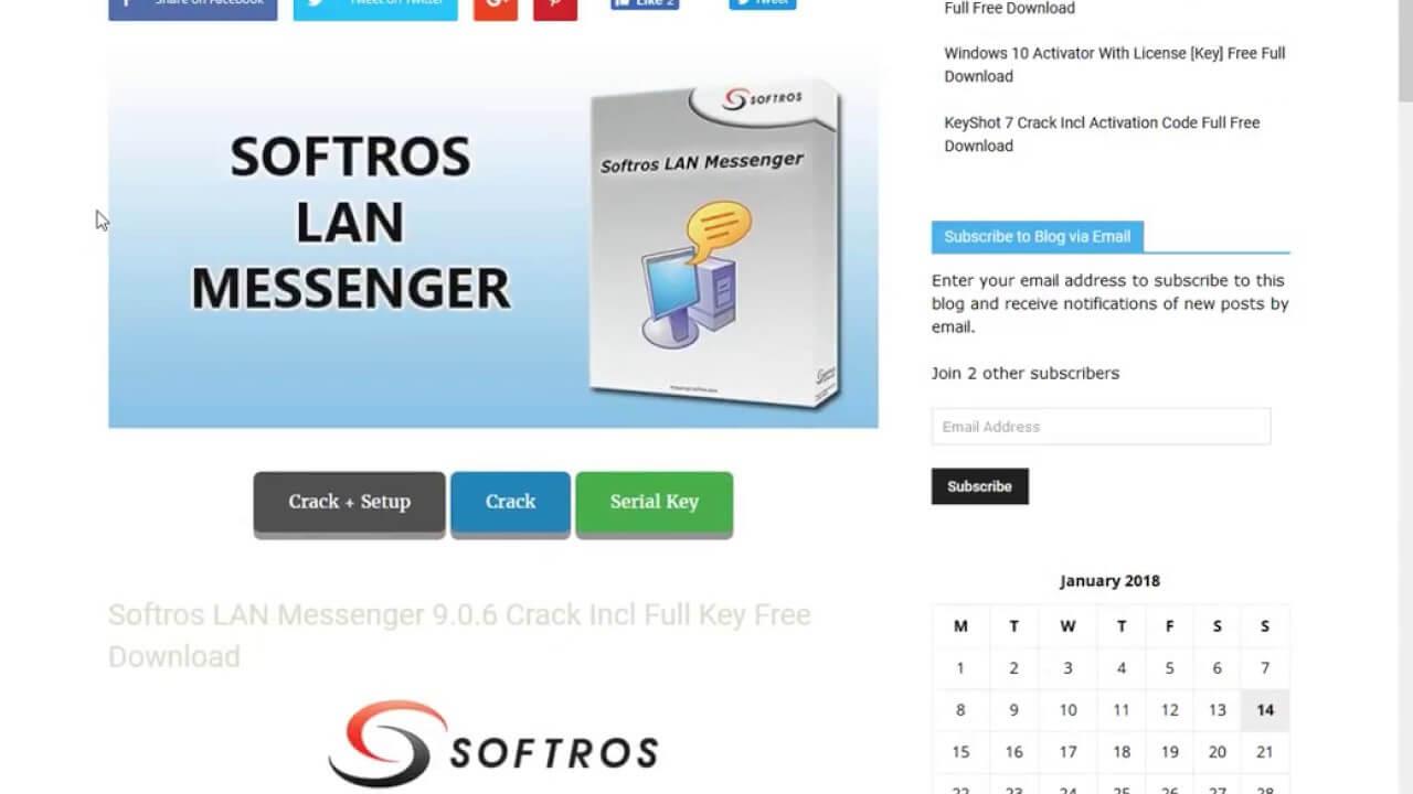 Softros Lan Messenger Serial Key